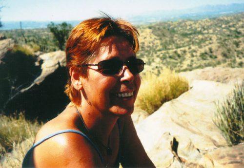 Inge Viett in Namibia