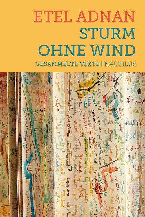 Etel Adnan Sturm ohne Wind