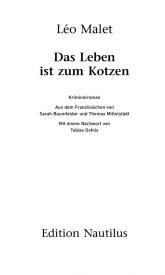 thumbnail of Leseprobe_Das_Leben_ist_zum_Kotzen